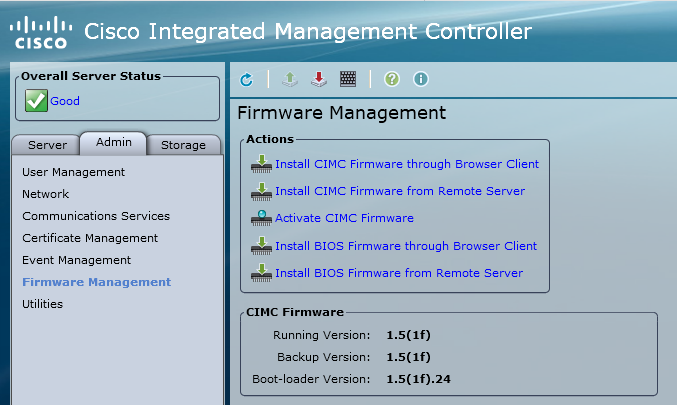 Extract Cisco UCS BIOS and CIMC Firmware with getfw